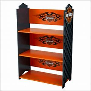 harley davidson book shelf by kidkraft furniture With kitchen cabinets lowes with harley davidson stickers decals