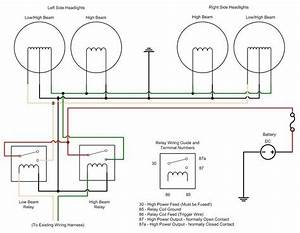 3 Prong Headlight Wiring Diagram