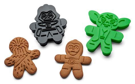 Star Wars Cookie Cutters   ThinkGeek