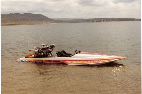 Vintage Sanger Boats For Sale by 1970 Sanger Drag Hydro Turbo Big Block Chevy Boats