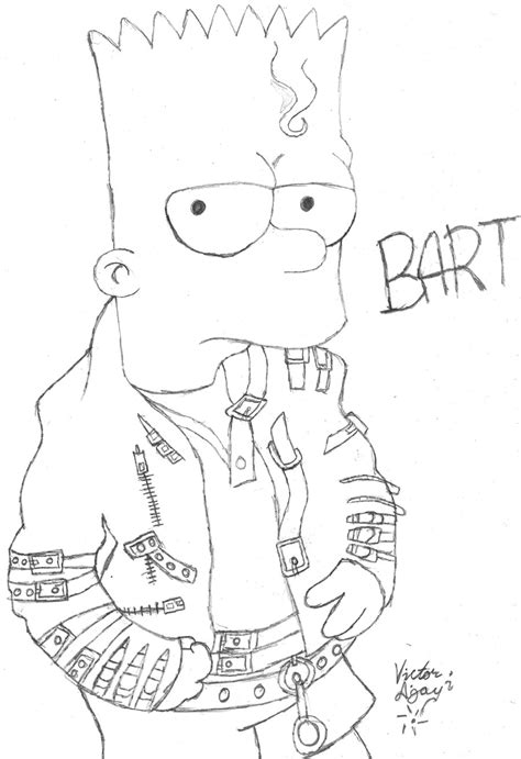 Best Bart Simpson Drawings Ideas And Images On Bing Find What