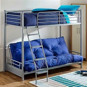 Lit 2 places mezzanine un equipement tres fonctionnel for Tapis chambre enfant avec canapé 2 places inclinable