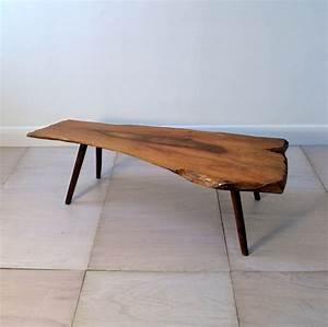 organic wooden coffee table With organic wood coffee table
