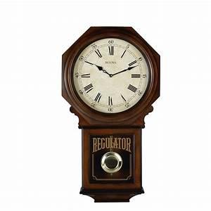 Bulova Regulator Wall Clock - Ashford C3543
