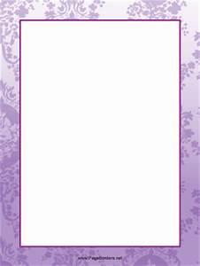 Purple Leaf Border