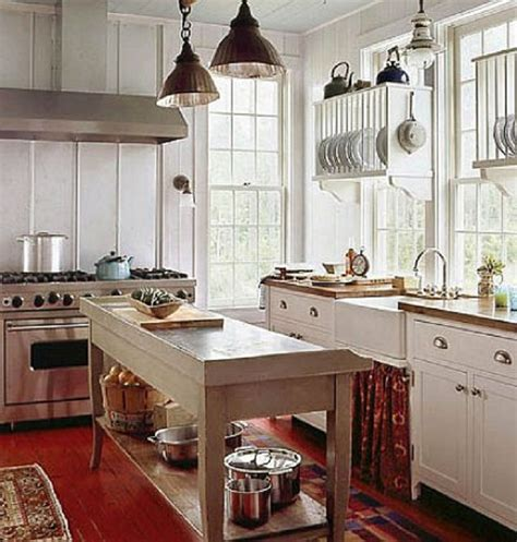 Cottage Kitchen Decorating And Design Ideas, French