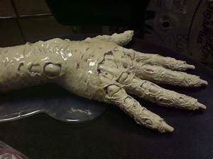 prosthetic zombie hand sculpt by barbelith2000ad on DeviantArt
