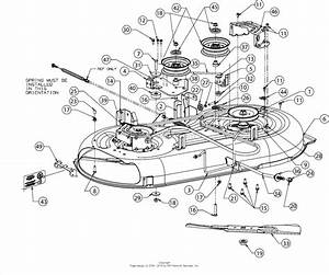 Mtd 13w277ss031  Lt 4200   2016  Parts Diagram For Deck