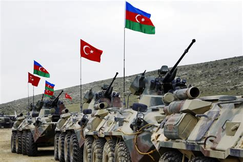 Azerbaijani, Turkish Armed Forces Continue Joint Drills