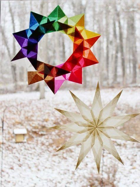 Weihnachtsdeko Fenster Bunt by Bunte Sterne Zieren Die Fenster Zu Weihnachten