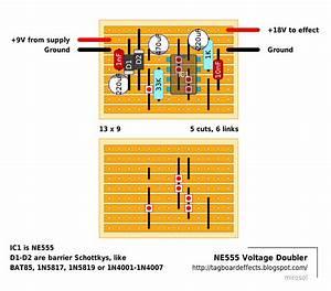 Guitar Fx Layouts  Ne555 Voltage Doubler
