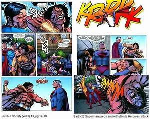 Superman vs Hercules (dc) - Battles - Comic Vine