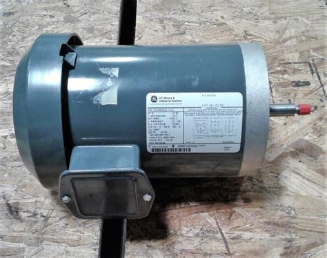 General Electric Motors by General Electric 5k49sn2184 Ac Motor Garden City Plastics