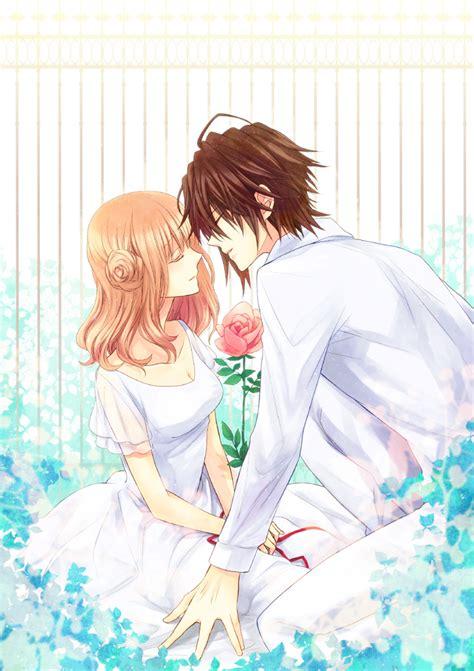 amnesia anime shin and heroine kiss amnesia 1625019 zerochan