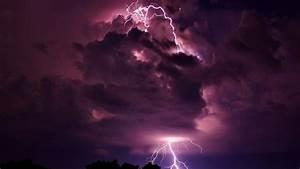 Clouds storm lightning wallpaper | AllWallpaper.in #16544 ...