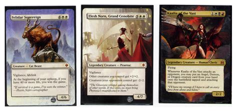 premade commander decks 2012 mtg commander commissions by taeryne on deviantart