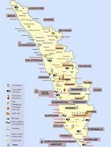 kerala tourism map Gallery