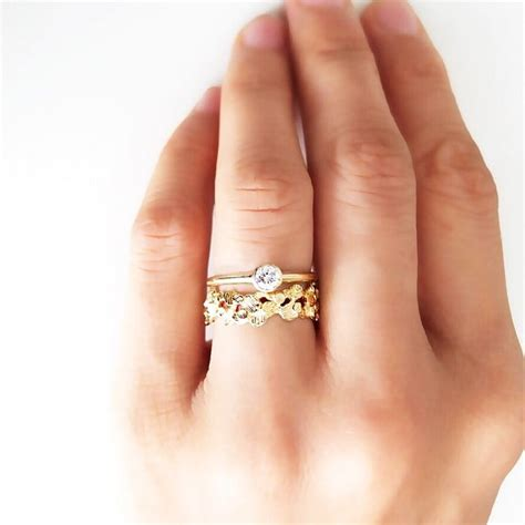 small engagement ring inspiration popsugar australia