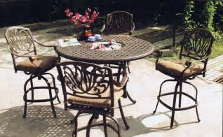 patio furniture sets bar height icamblog