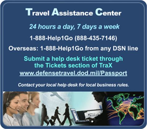 Dts 24 Hour Help Desk by Travel Assistance Center