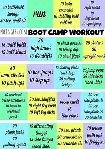 Diagrams Of Boot Camp Exercises