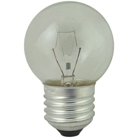 watt es  clear  degree oven light bulb