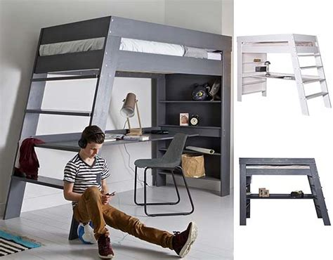 loft bed with desk top 7 hoogslaper spelen product ruimte