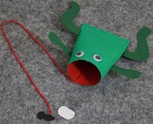 Basteln Mit Kindern Schnell Und Einfach : frosch basteln einfach und schnell basteln mit kindern ~ A.2002-acura-tl-radio.info Haus und Dekorationen