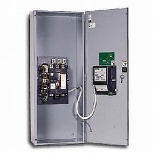 Asco 300 Series 200a 1 U00d8 240v 3 Wire Automatic Transfer
