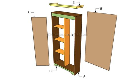 Building Wardrobe Closet by How To Build An Armoire Wardrobe Howtospecial