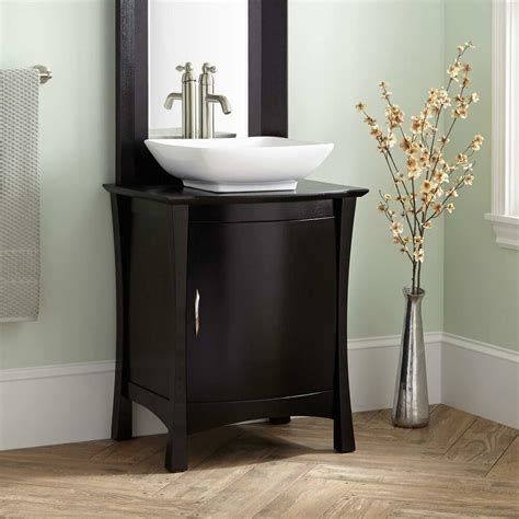 24 Vanity With Sink by Signature Hardware 24 Quot Frisco Vessel Sink Vanity With