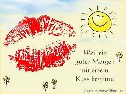 Morgen Guten Kuss Liebling Guter Bild Lustig