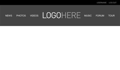 centered navigation bar template bootstrap 4 navbar brand image center best picture of