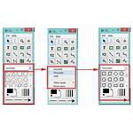 Flowchart Membuat Rumus Segitiga Icon Menggunakan Bentuk