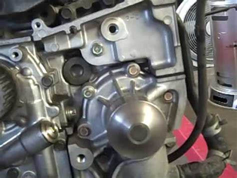 replace  subaru forester water pump youtube