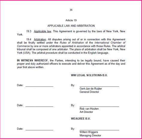 contract signature page template uk signature blocks seals and witnesses weagree