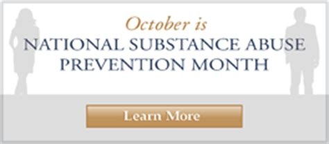 government observances  substance abuse education