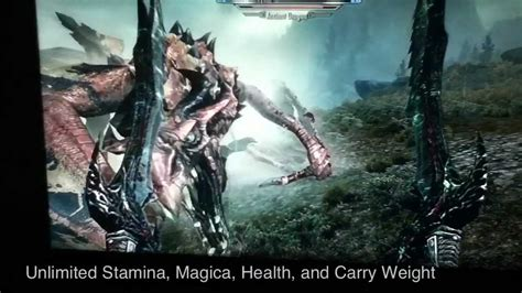how to create god armor unlimited damage skyrim how to be invincible forever and unlimited health Skyrim