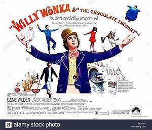 GENE WILDER POSTER WILLY WONKA & THE CHOCOLATE FACTORY ...