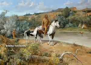 Native American Western Art Paintings
