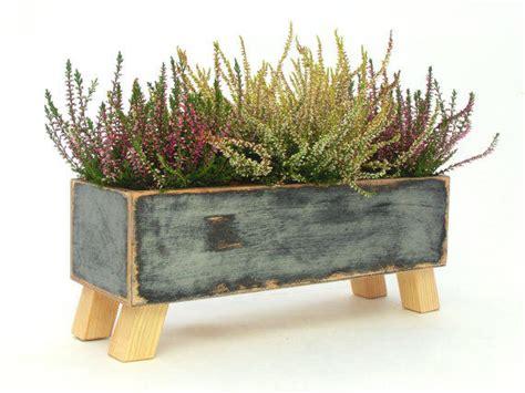 Windowsill Garden Box by Wooden Herb Planter Windowsill From Artmastudio On Etsy