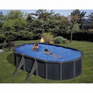 Piscine Hors Sol Chauffée : piscine hors sol rattan gre 500x300 h132 filtre sable ~ Mglfilm.com Idées de Décoration