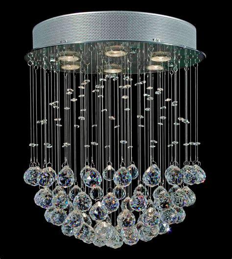 Kronleuchter Modern Kristall by Modern Chandelier Lighting Chrome Fixture Pendant