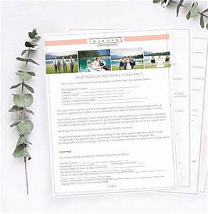 8 best contracts releases images on pinterest model With destination wedding photography contract