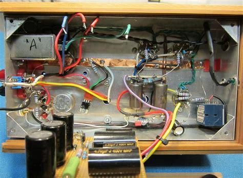 mini block ultra linear class  push pull el bq valve amplifier