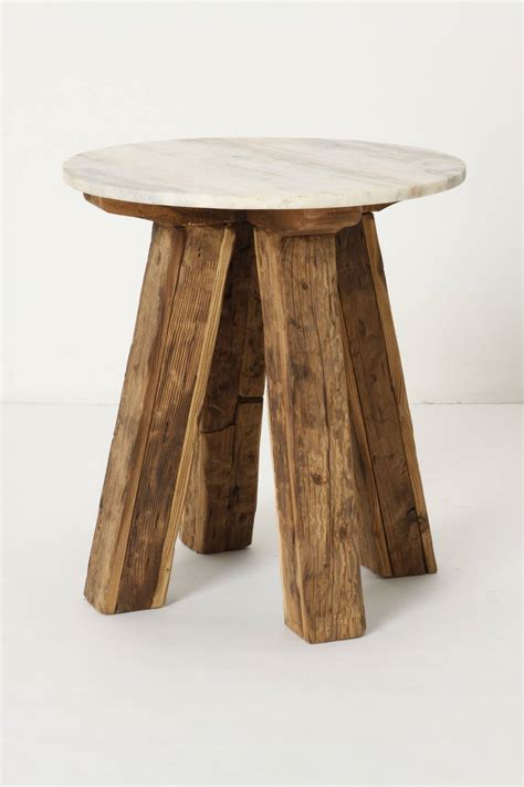 stone top side table marble top side table anthropologie