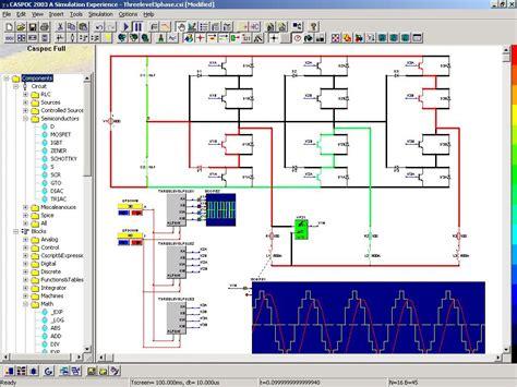 Caspoc Simulation Animation For Power Electronics