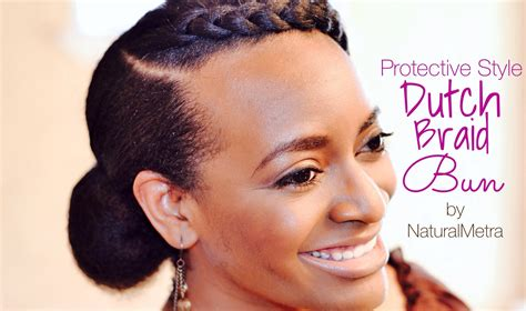 protective styling for relaxed hair 43 how to simple braid bun 5140