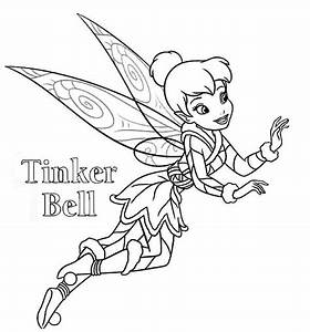 Tinkerbell Christmas Coloring Pages - Best Toys Collection
