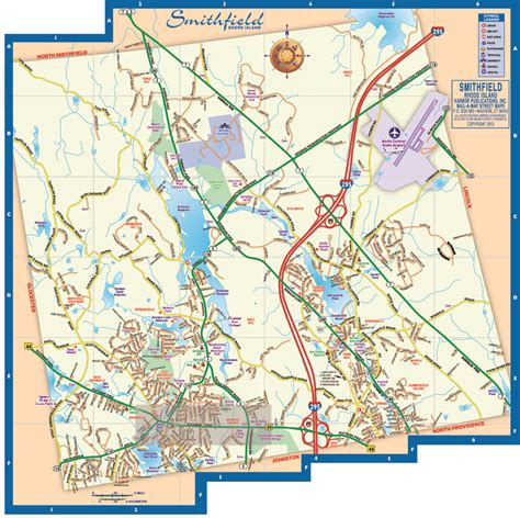 smithfield ri street map smithfield road map smithfield map